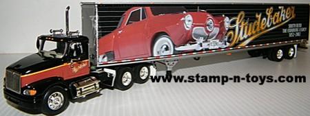 Studebaker Logoed Dryvan with IH 9100 Daycab