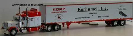 Kory Farm Equipment 2007 DCP Pete 379  Dry Van