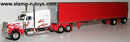 "Peterbilt 379 63"" w/Chrome Utility Dryvan"