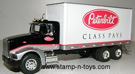 Peterbilt 385 Peterbilt Logo Van by Spec Cast