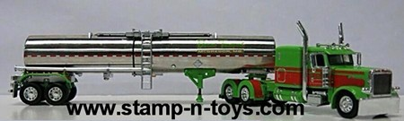 Durand Transport Pete 389 w/Brenner Chemical Tanker