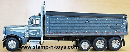 Peterbilt 379 Straight Truck with MAC Dump box