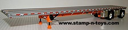 Wilson 53' spread axle Flatbed