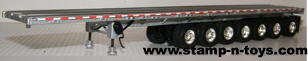 Wilson 53' 7 axle Flatbed