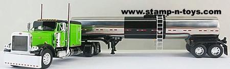 O/O Peterbilt 379 Flattop with Brenner Asphalt Tanker