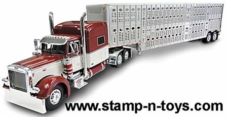 Mosser Trucking Pete 379 with Cattlepot