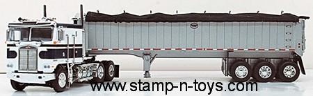 Kenworth K-100 C/O with framed MAC Coal Trailer