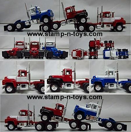 Mack Daycab Trio Tractor Set