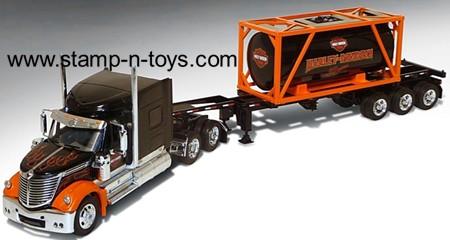 Harley Davidson International Lonestar w/new 20 ft Container & Harley Oil Graphics
