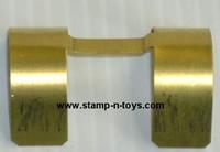 Brass Hump Fenders Rear Paintable