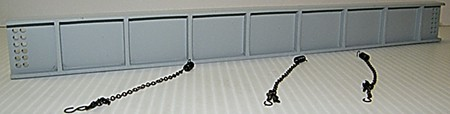 DCP Resin I-Beam Load with chains and binders