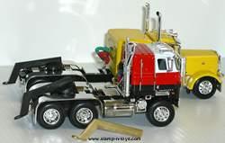 Brass Truck Pulling Bracket