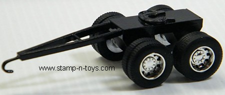 Tandem Axle Trailer Dolly with DCP Wheels & Tires