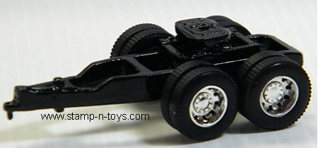 Diecast Tandem Axle Trailer Dolly with DCP Wheels & Tires