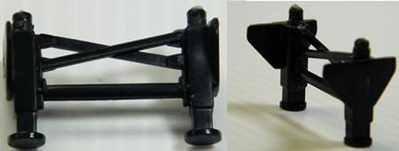 Plastic Landing Gear for Trailer