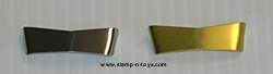 Stainless Steel Bowtie Visor for DCP 379/389 Peterbilts