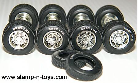 DCP G397 LHS White Letter Tire Set