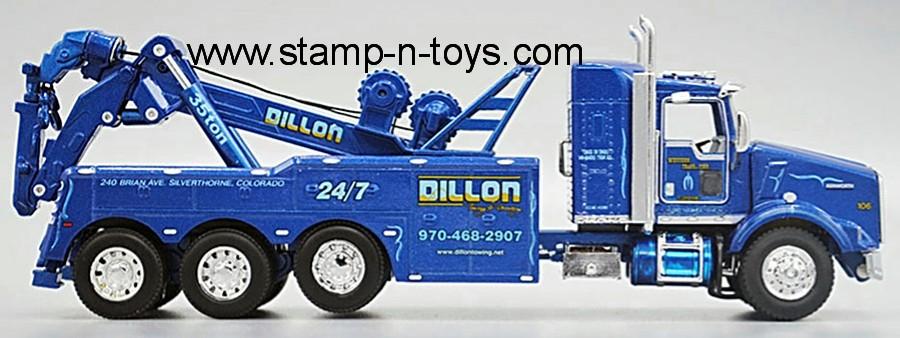 DCP 34063 Western Distribution (Dillon) Kenworth T-800 Wrecker